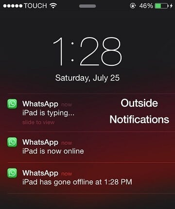 WhatsApp Online Tracker Shows You When Anyone Goes Online or Offline -  Cydia Geeks