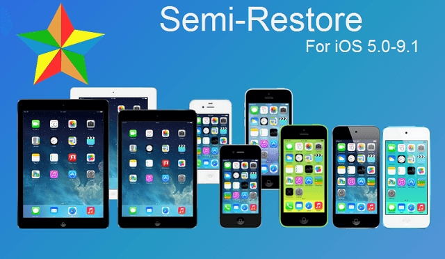 SemiRestore9 vs  iLEX RAT: Restore without Losing Jailbreak - Cydia