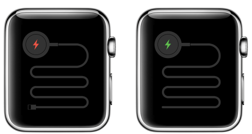 apple watch battery status image