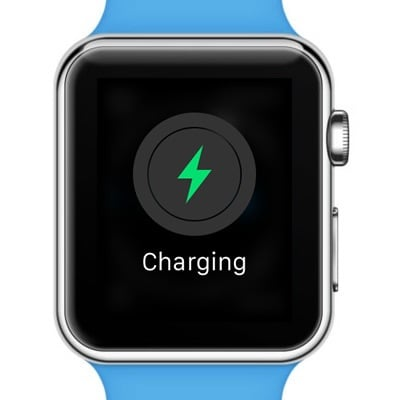 charging apple watch screen image