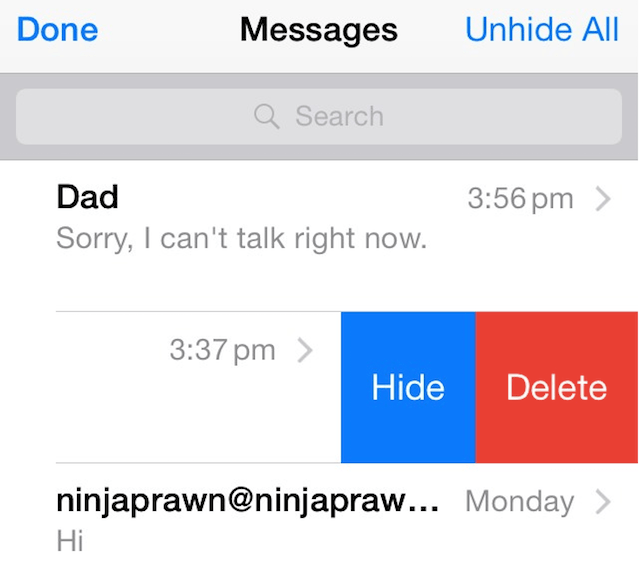 How To Hide Text Messages On Iphone And Keep Conversations Private Cydia Geeks