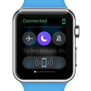 apple watch do not disturb image