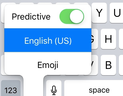 predictive-in-ios10
