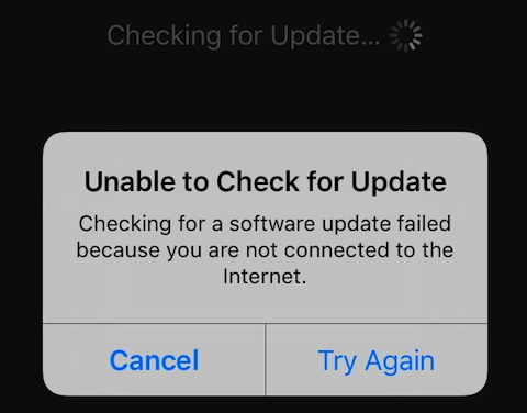 unable-to-check-for-update-watchos