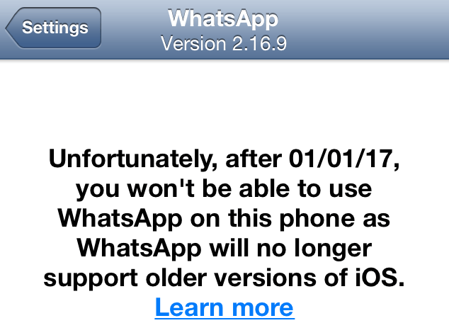 whatsapp-no-support-ios-6