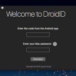 How to Unlock your Mac with an Android Phone using DroidID