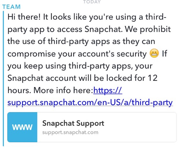 How To Avoid Getting Banned Or Locked Out Of Snapchat Using