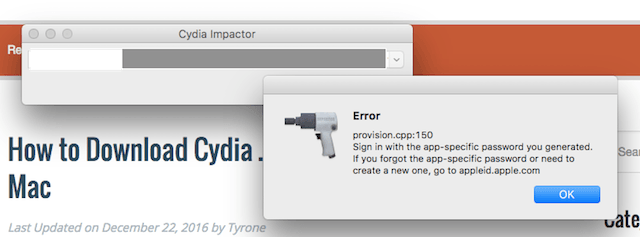 Cydia Impactor Errors: The Complete List & How to Fix Them - Cydia Geeks