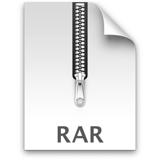 What is rar extension for mac pro